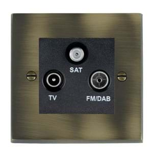 Digital Television Sockets - Screened Non-Isolated/DAB Compatible